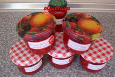 Erdbeer-Passionsfrucht-Konfitüre - Rezept