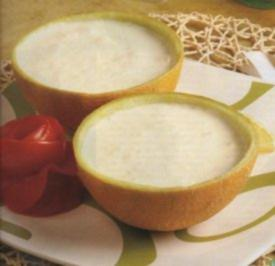 Zucker-Honigmelonensuppe - Rezept