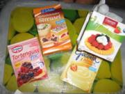Vanille-Fruchtcocktail-Tortlettes - Rezept
