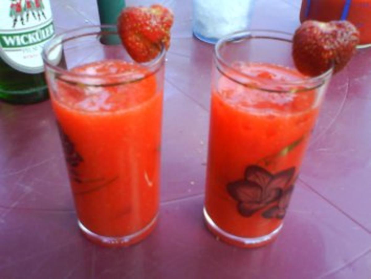 erdbeer daiquiri amp  s rezept mit bild kochbar de