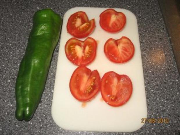 gegrillte Peperoni und Tomaten - Rezept - Bild Nr. 2