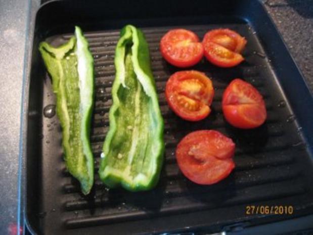 gegrillte Peperoni und Tomaten - Rezept - Bild Nr. 3