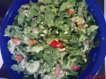 Rezept: Sommersalat griechischer Art