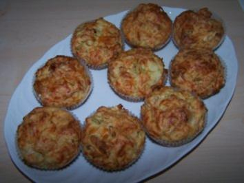Lauch-Schinken-Muffins - Rezept