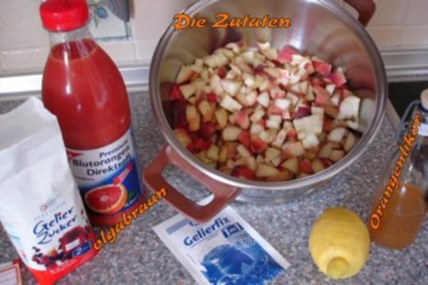 Weinbergpfirsich-Blutorangen-Marmelade - Rezept - Bild Nr. 2
