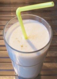 Getränk: Bananen-Mango-Kokos-Shake - Rezept