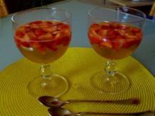 Erdbeerbowle zu zweit - Rezept