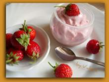 Cremiges Erdbeereis - Rezept