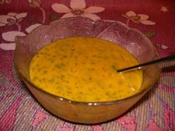 Senf-Honig-Soße - Rezept