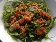 Kalbfleischröllchen gefüllt mit Ziegenkäse,Zucchini und Schinken - Rezept