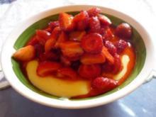 schnelles Erdbeerdessert - Rezept