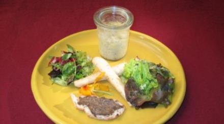 Waghalsige Kräutersalate und Eier, die Trüffel mit in den Tod gerissen haben - Rezept