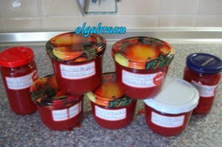 Blutorangen-Erdbeer-Marmelade - Rezept