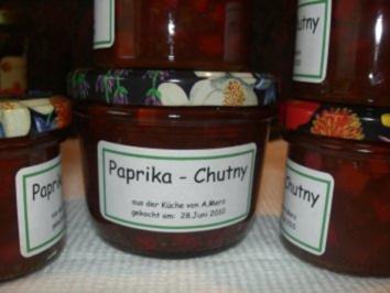 Dip:   PAPRIKA - CHUTNEY - Rezept