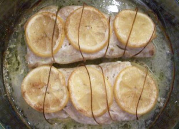 Kochen: Zitronen-Lachs - Rezept - Bild Nr. 2