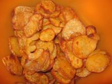 Kartoffelchips aus dem Backofen - Rezept
