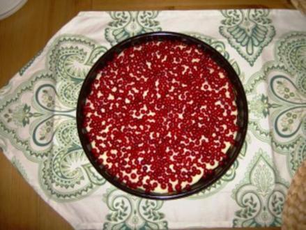 Johannisbeerkuchen - Rezept