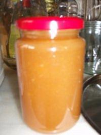 Weinbergpfirsich-Fruchtaufstrich - Rezept