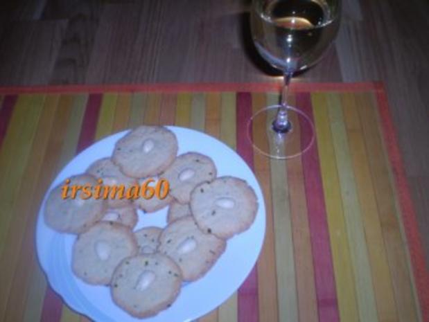 Mandel – Schnittlauch – Plätzchen - Rezept - Bild Nr. 2