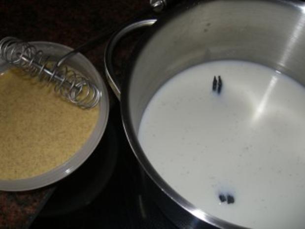 Dessert:  VANILLE - QUARK - SPEISE - Rezept - Bild Nr. 3