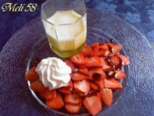 Desserts: Champagner-Sabayon - Rezept
