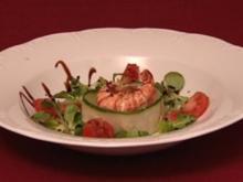 Garnelensalat im Gurkenring (Gisele Oppermann) - Rezept