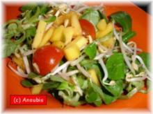 Salat - Fruchtiger Feldsalat - Rezept
