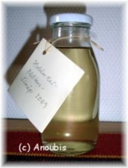 Sirup - Holunderblüten-Sirup à la Schwiegermutter - Rezept