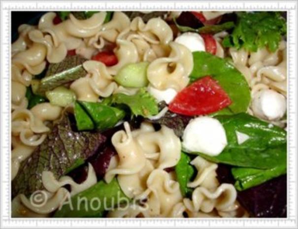 Salat - Sommerlicher Nudelsalat - Rezept