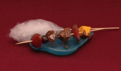 Schokoladenbrunnen mit Obst (Sabrina Lange) - Rezept