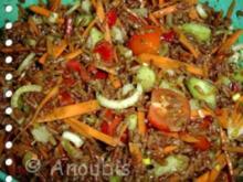 Salat - Roter Reissalat - Rezept