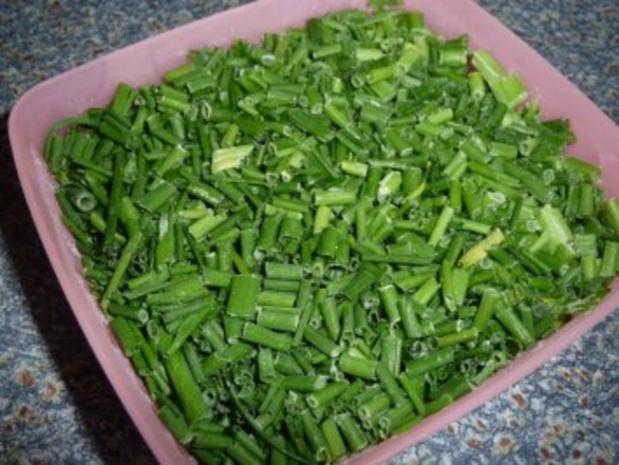 Salat mit gebratenen Hähnchenstreifen - Rezept - Bild Nr. 7