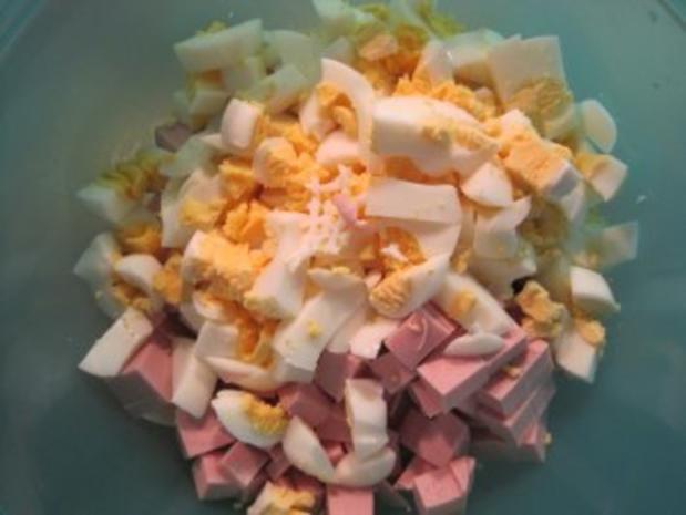 Eiersalat mit Fleischwurst - Rezept - Bild Nr. 3