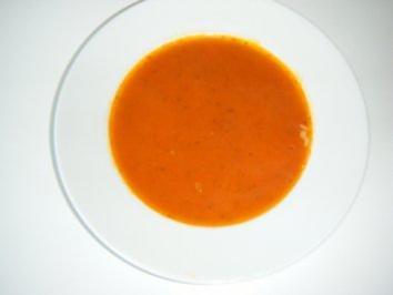 Sommerliches Tomatensüppchen - Rezept
