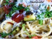 Gemüsespaghetti - Rezept