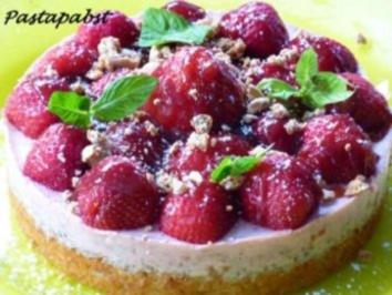 Erdbeer-Campari-Torte - Rezept