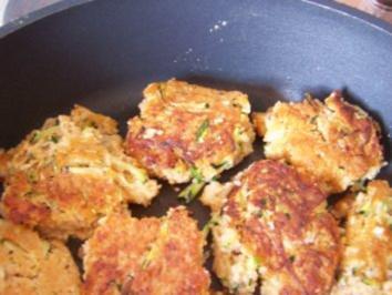Couscous-Gemüsebratlinge - Rezept