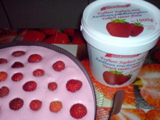 Erdbeer-Joghurt-Torte - Rezept - Bild Nr. 18
