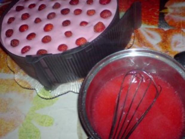 Erdbeer-Joghurt-Torte - Rezept - Bild Nr. 19