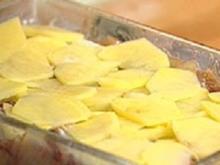 Lyoner Kartoffelgratin - Rezept