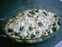 Kartoffel - Spinat - Auflauf - Rezept
