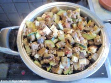 Hackfleisch-Gemüse-Pfanne - Rezept