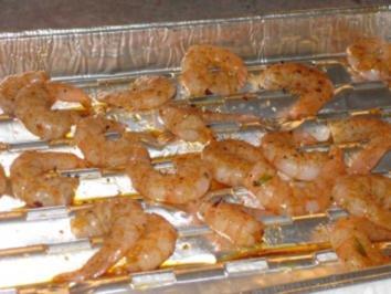 Garnelen mit Zitrus-Salsa - Rezept