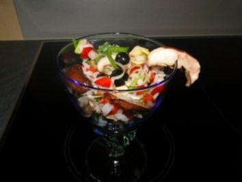 Pilzsalat nach Tinas Art            Fotos - Rezept