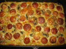 Gemüse-Pizza - Rezept
