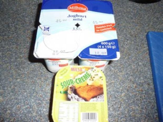 Kartoffelsalat mit Gurke und Ei - Rezept - Bild Nr. 12