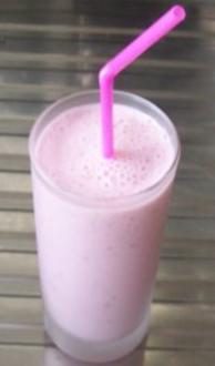 Getränk: Himbeer-Joghurt-Shake - Rezept