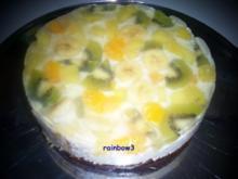 """Backen: Obst-Torte """"Karibik"""" - Rezept"""