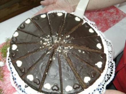 Sacher-Kuchen - Rezept