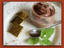 Cremiges Schokoladeneis - Rezept